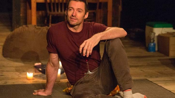Hugh Jackman in The River on Broadway