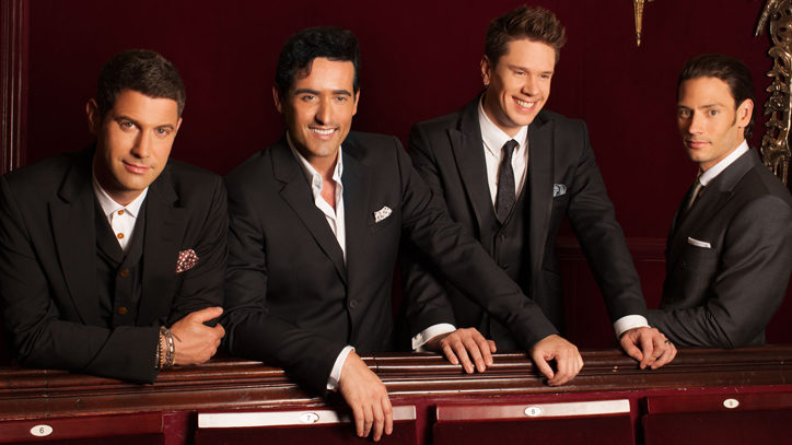 The stars of Il Divo on Broadway