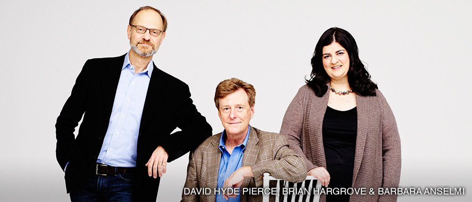 David Hyde Pierce, Brian Hargrove, and Barbara Anselmi on It Shoulda Been You