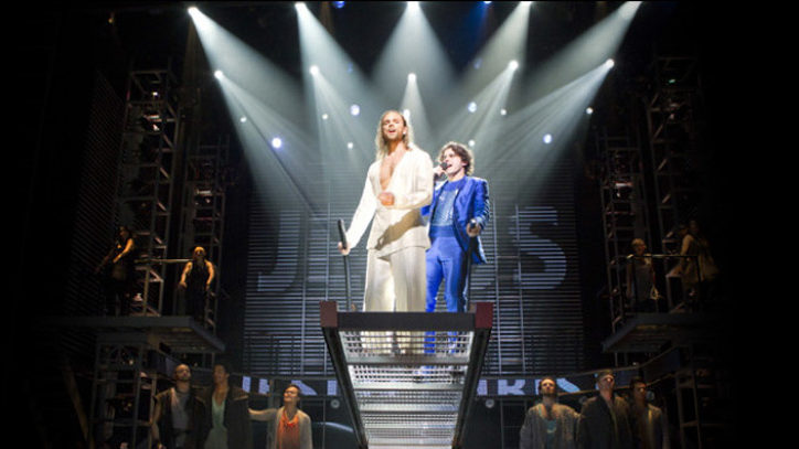 The Broadway revival of Jesus Christ Super Star