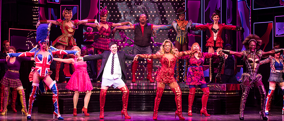 Todrick Hall and the Company of Kinky Boots on Broadway