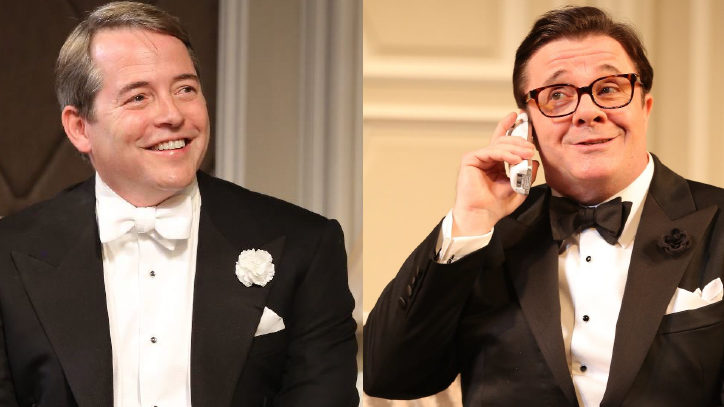 Nathan Lane Returns to It's Only a Play