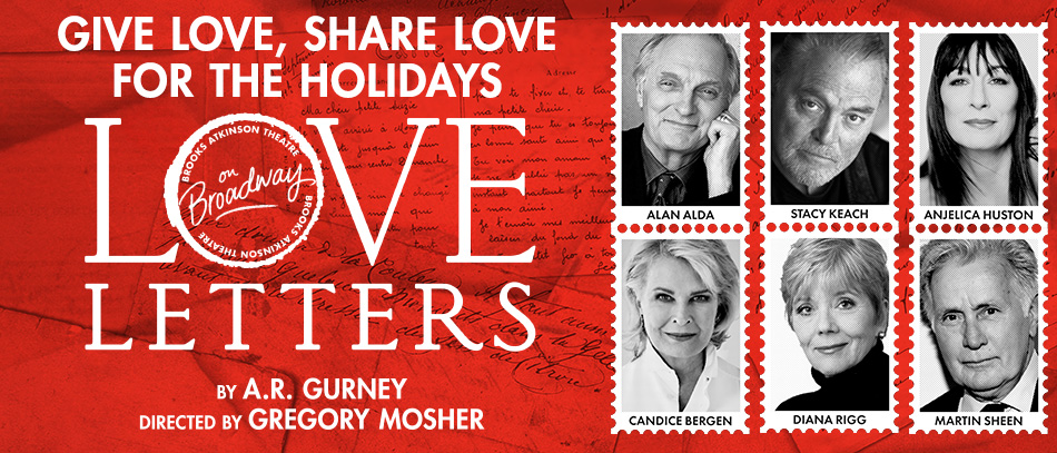 The stars of Love Letters on Broadway