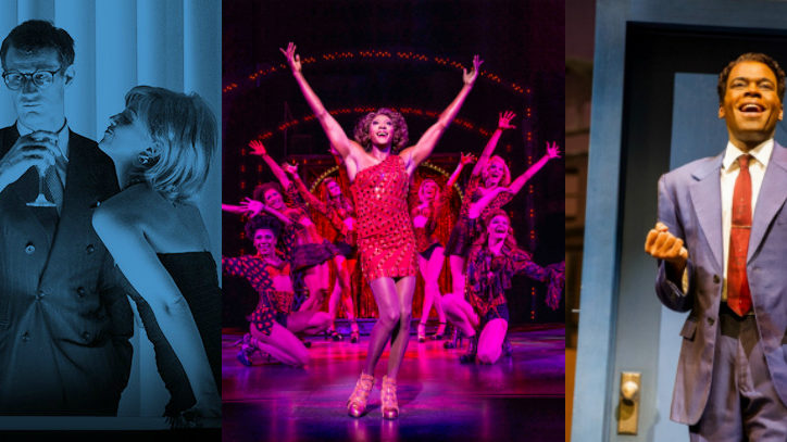 London and New York share theatrical htis