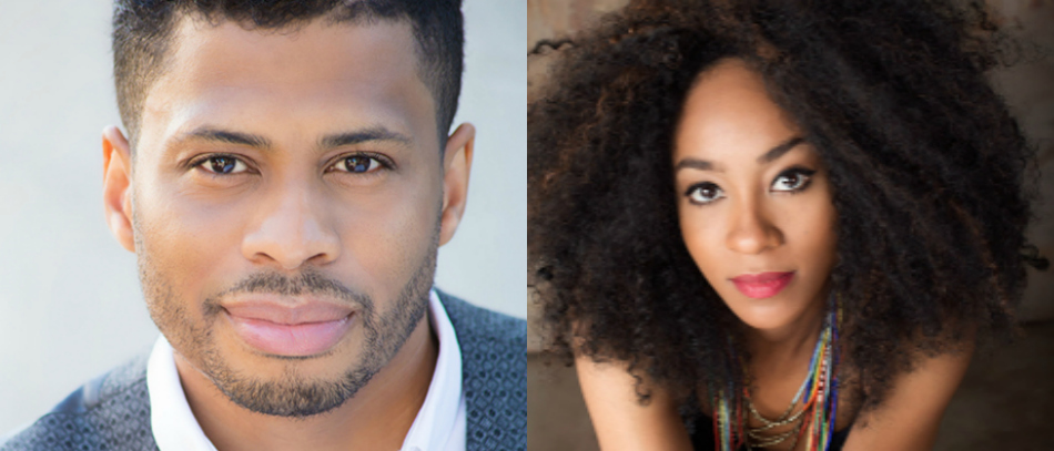 Headshots of Chester Gregory and Allison Semmes