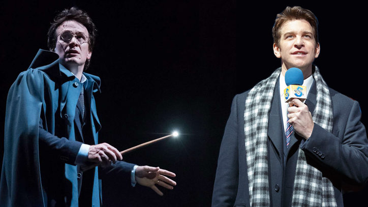 Production photos from Harry Potter and The Cursed Child and Groundhog Day the Musical