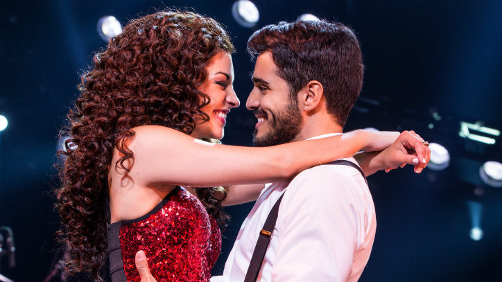The stars of On Your Feet! on Broadway