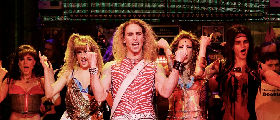 The Broadway company of Rock of Ages
