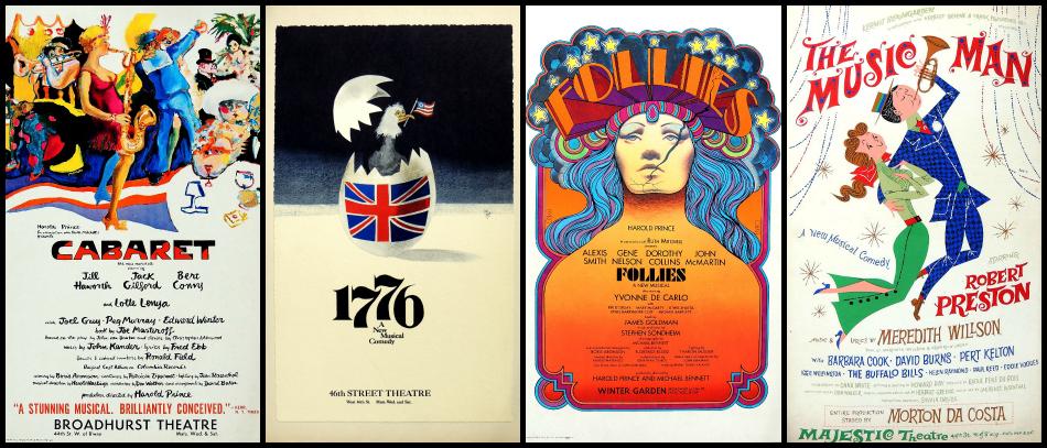 Vingage Broadway posters