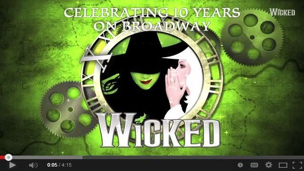 Wicked's 10th Anniversary Memories