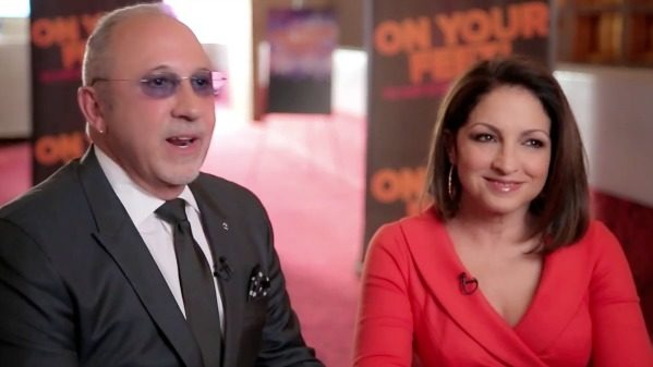 Gloria and Emilio Estefan Introduce On Your Feet