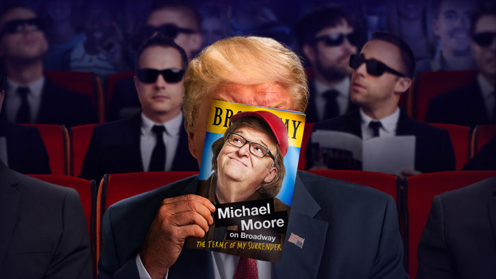 Michael Moore Trains His Satirical Sights on the Presidency
