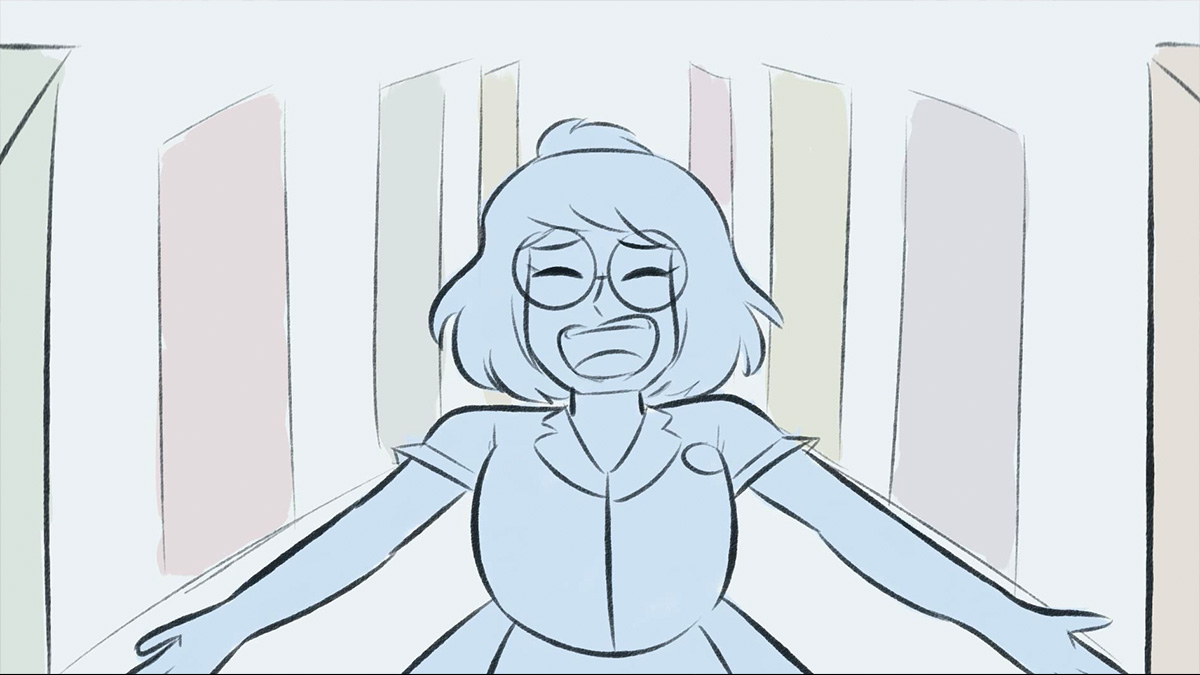 "Fan Art Animation of ""When He Sees Me"" from Waitress"