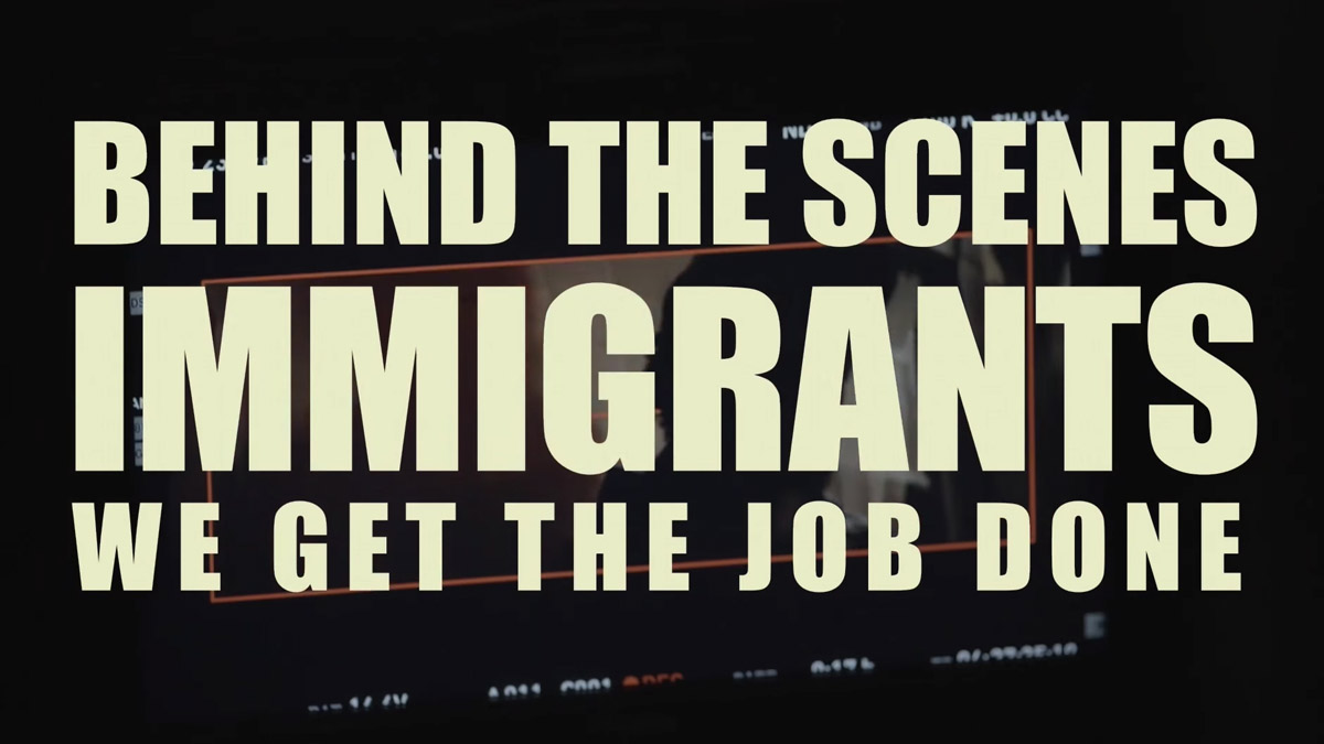 Behind The Scenes Of Immigrants (We Get The Job Done)