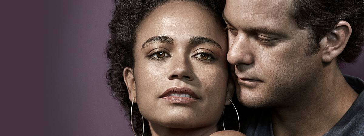 Lauren Ridloff and Joshua Jackson
