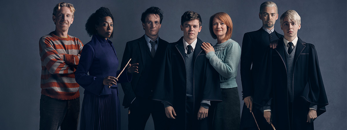 The cast of Harry Potter and the Cursed Child on Broadway