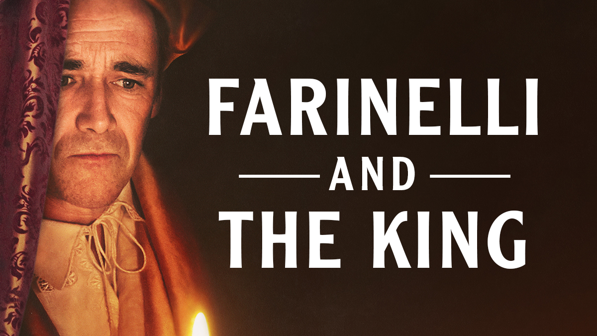 Mark Rylance in Farinelli and the King on Broadway