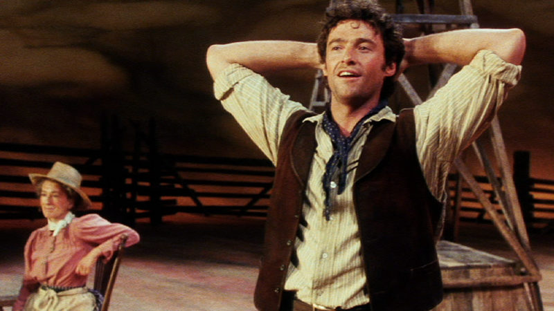 Hugh Jackman stars in the 1999 National Theatre production