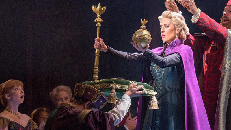 Get a First Look at Frozen on Broadway