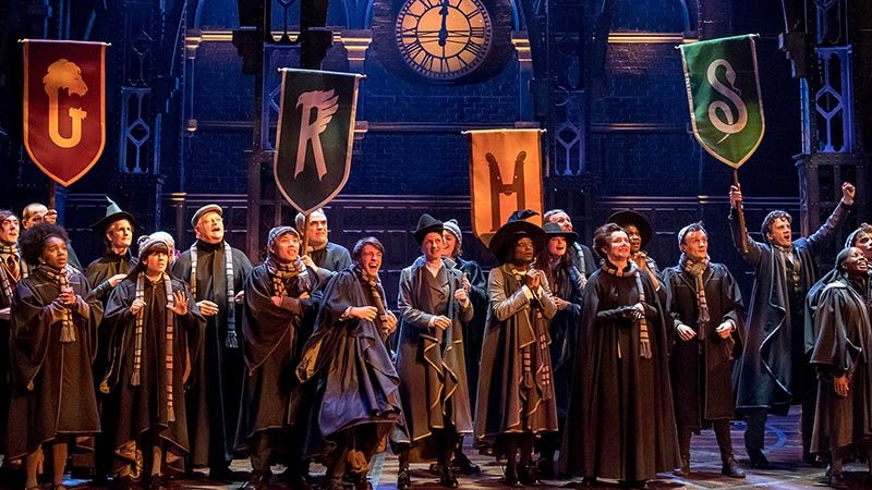 The West End cast of Harry Potter and the Cursed Child