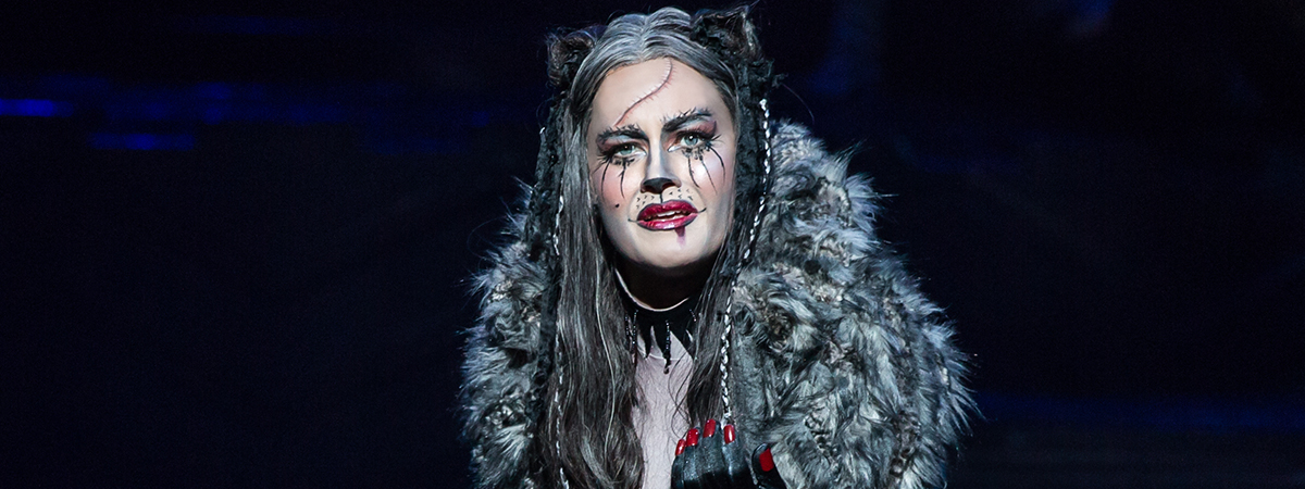 Mamie Parris as Grizabella in the Broadway revival of Cats
