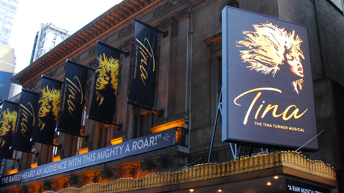 Lunt Fontanne Theatre Tina The Tina Turner Musical