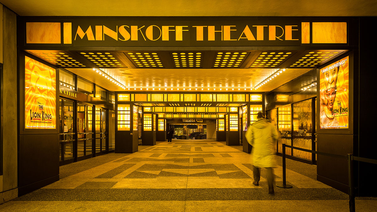 The Minskoff Theatre