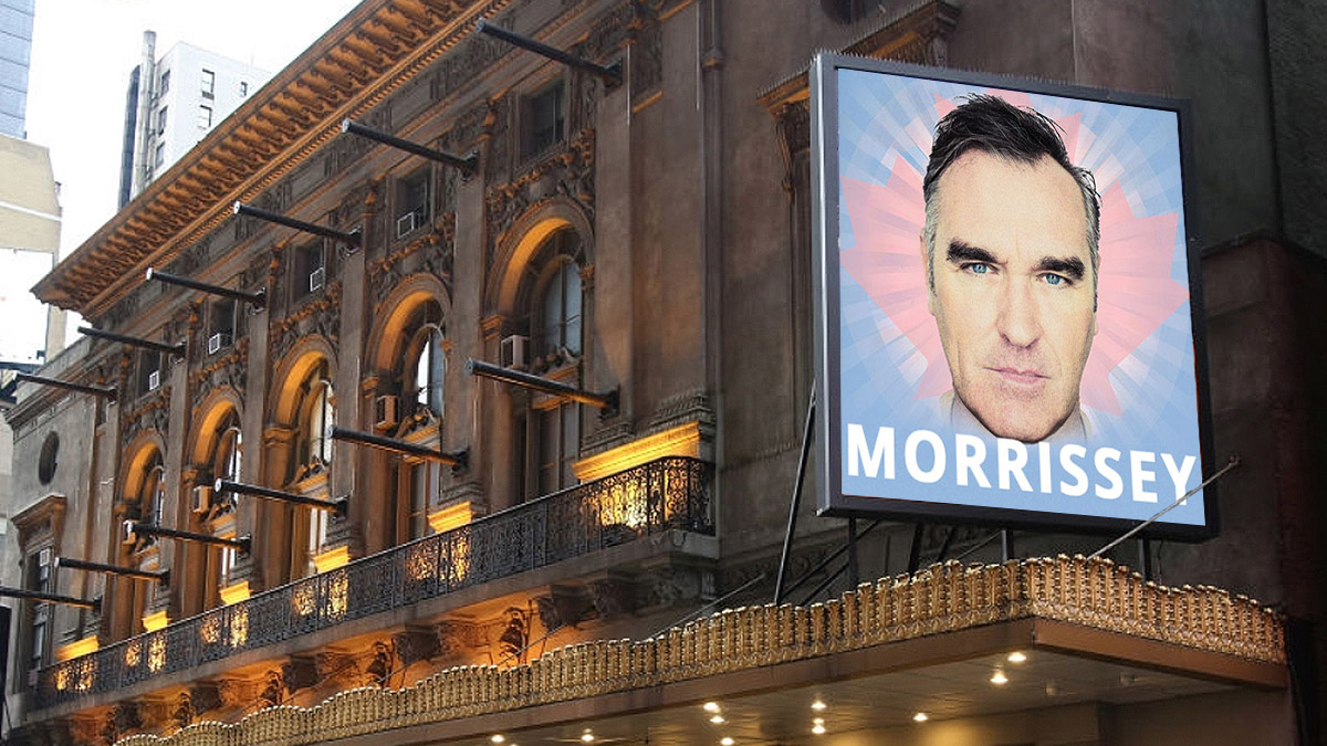 Morrissey on Broadway | Tickets & Information - Lunt Fontanne Theatre
