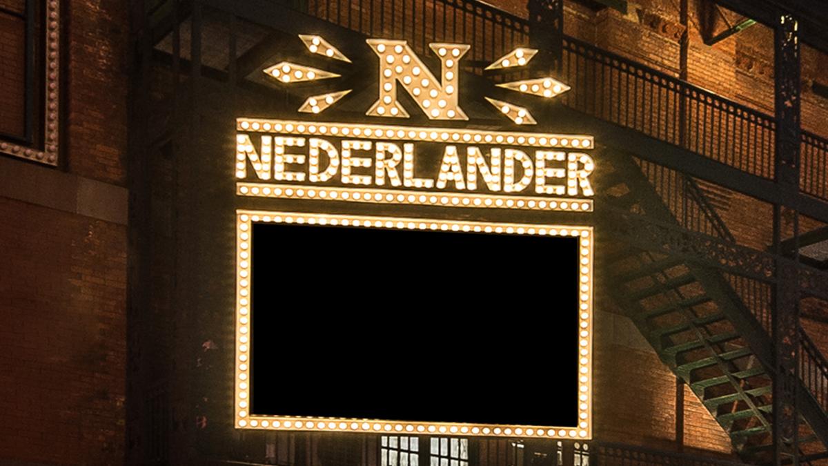 Nederlander Theatre Marquee
