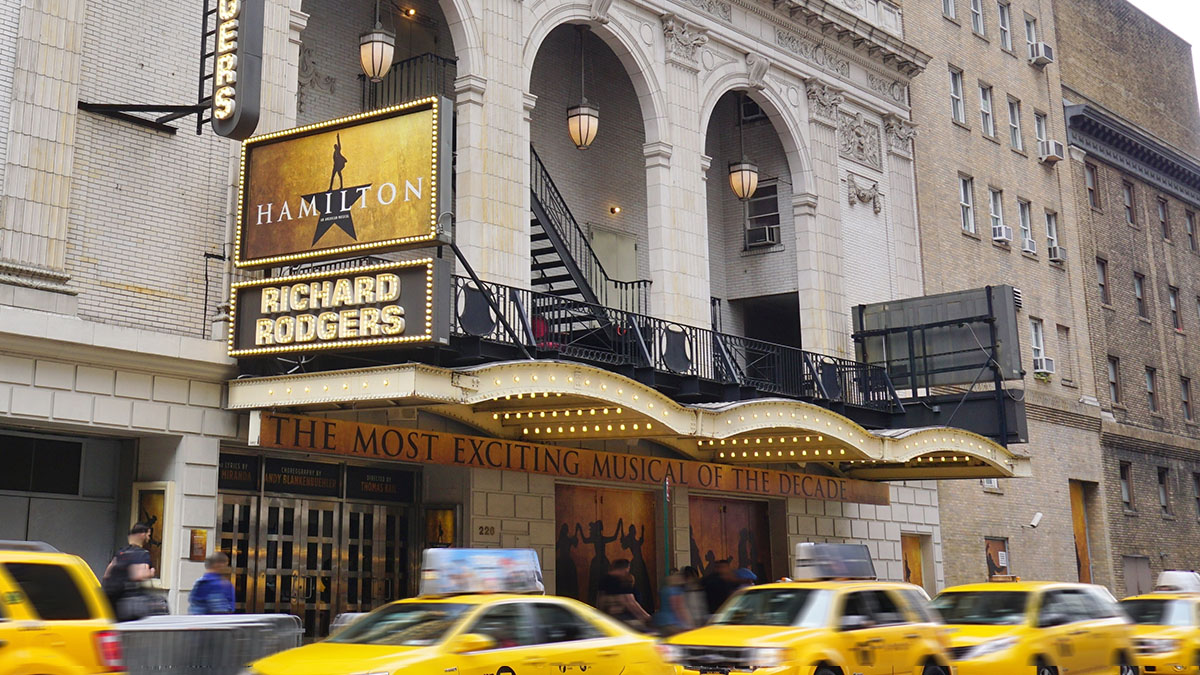 The Richard Rodgers Theatre | Hamilton on Broadway