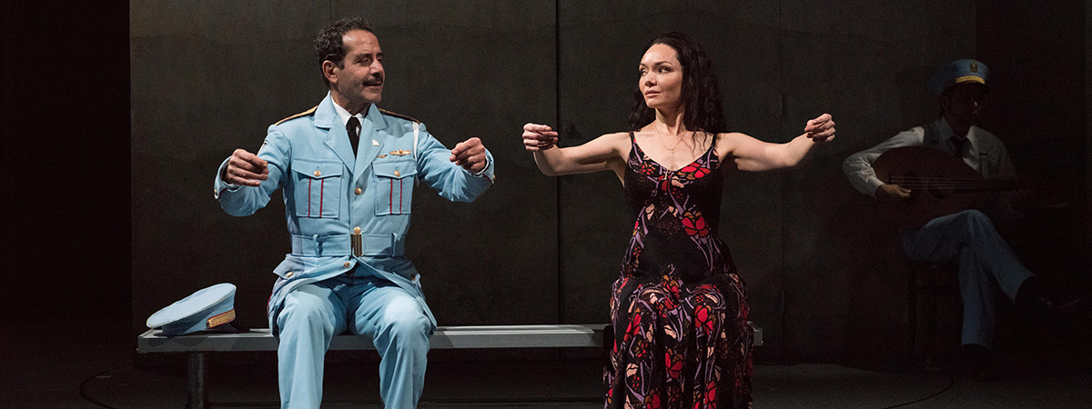 Tony Shalhoub and Katrina Lenk Take a Transcendent Journey