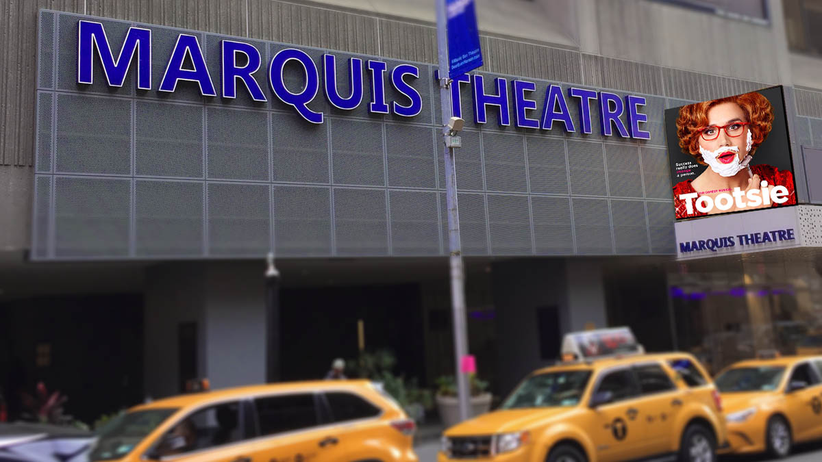 Tootsie the Musical at Broadway's Marquis Theatre