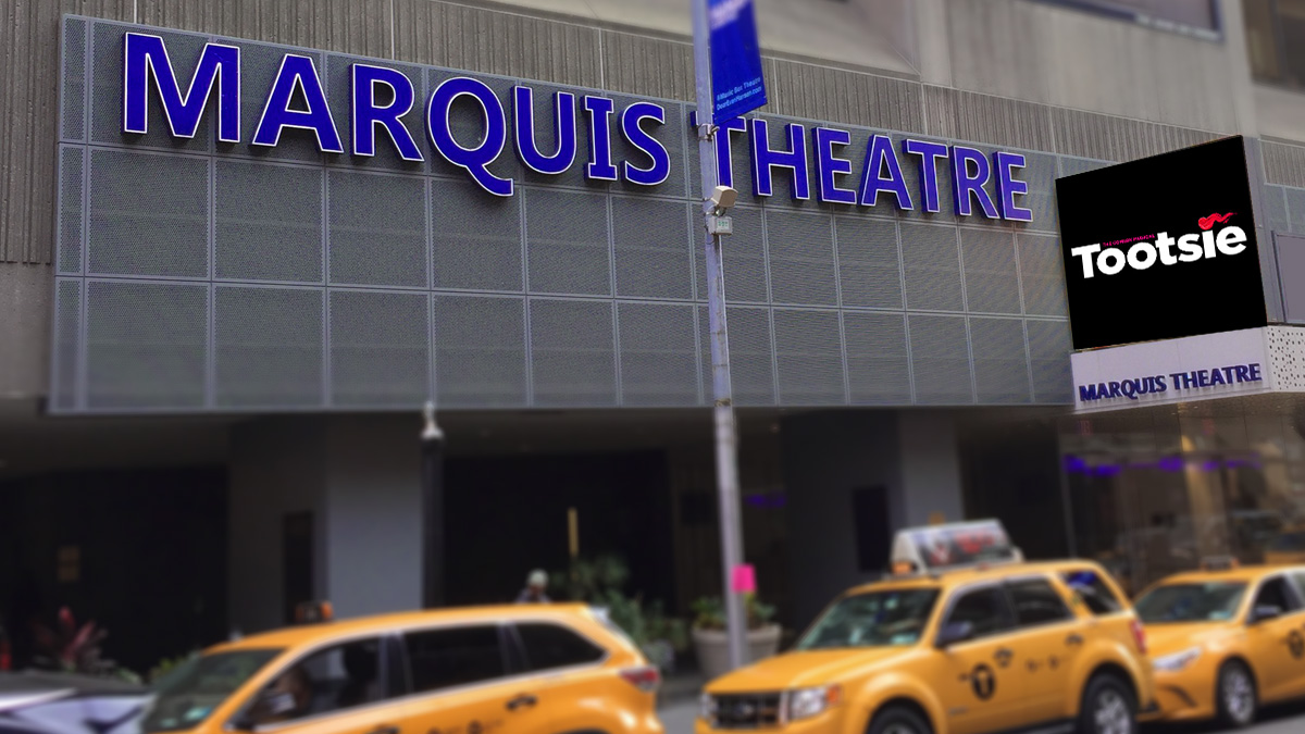 Marquis Theatre on Broadway