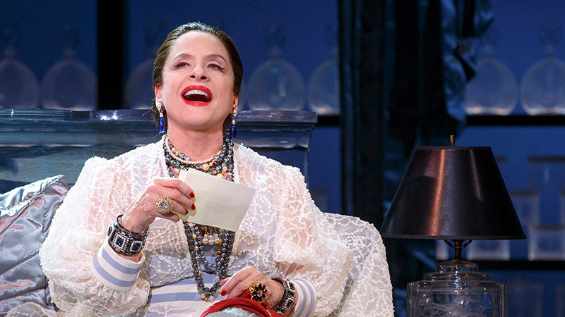 Patti LuPone stars in War Paint on Broadway through November 5th.