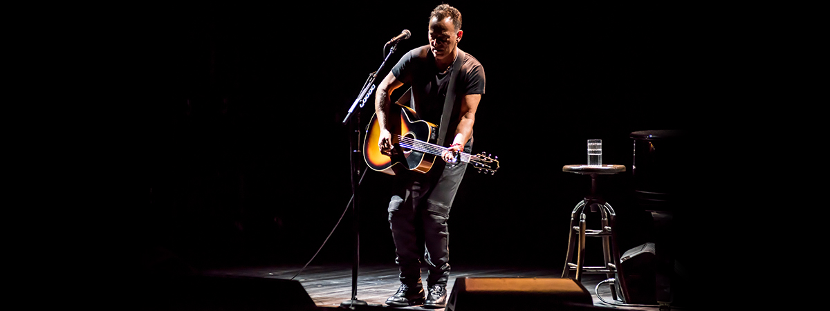 Bruce Springsteen in Springsteen on Broadway extends his run to June 2018