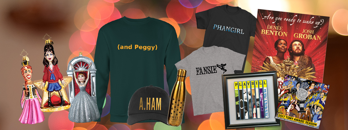 Holiday Gift Guide for Broadway Fans