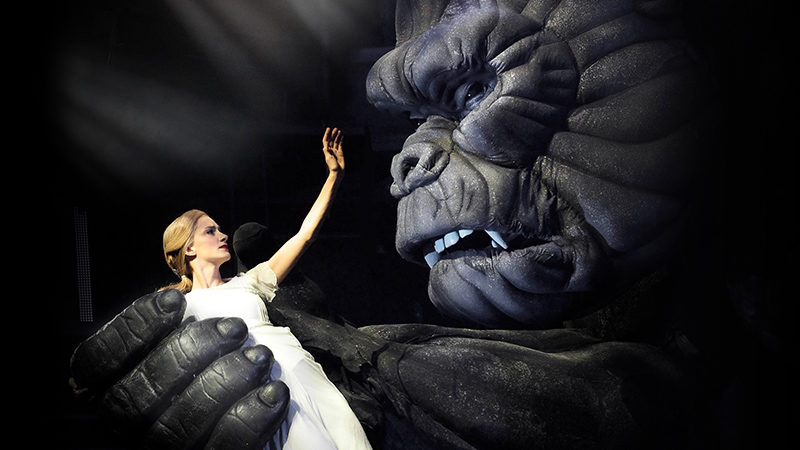 King Kong the musical on Broadway in 2018