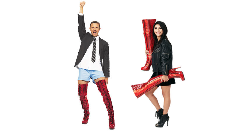 <em>Kinky Boots</em> Draws from Scissor Sisters and Pentatonix