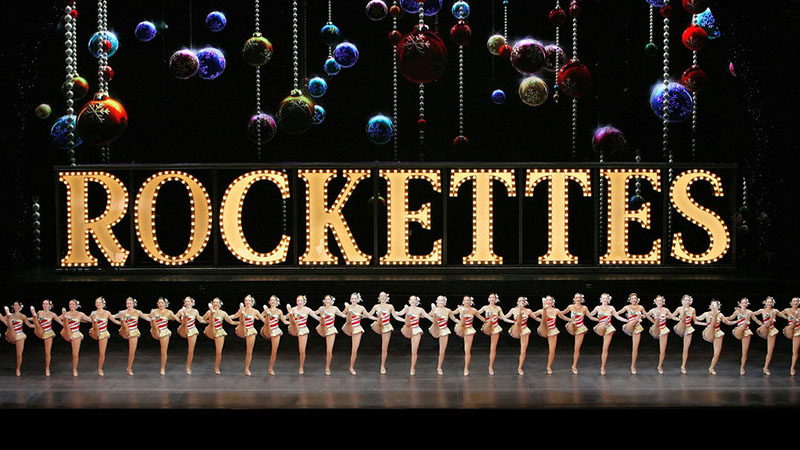 The Radio City Rockettes perform in The Christmas Spectacular