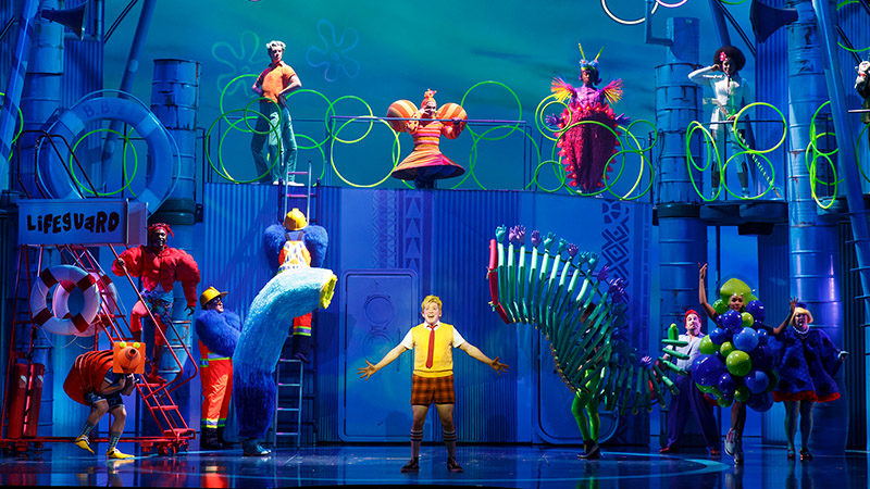 SpongeBob SquarePants on Broadway announces digital lottery powered by Broadway Direct