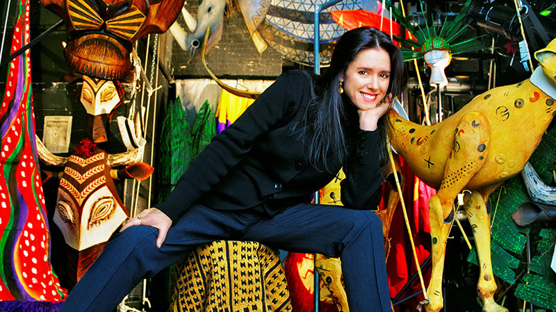 Julie Taymor, Tony-winning director of Disney's Broadway musical The Lion King
