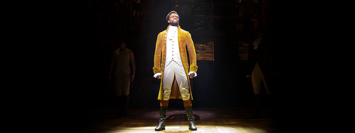 Michael Luwoye to star as Hamilton in the Broadway production