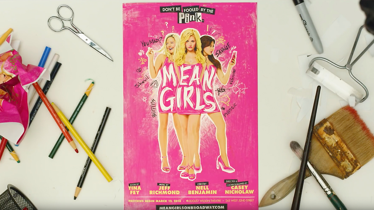 Mean Girls on Broadway, Don't be fooled by the pink.