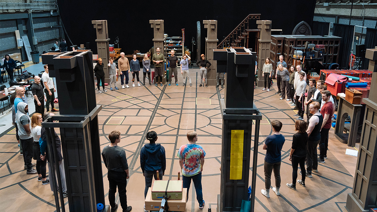 Behind-the-Scenes: <em>Harry Potter and the Cursed Child</em> in Rehearsal