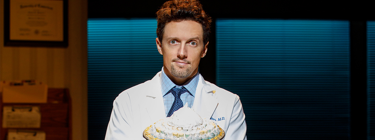 Jason Mraz stars in Waitress the Musical on Broadway through February 11, 2018