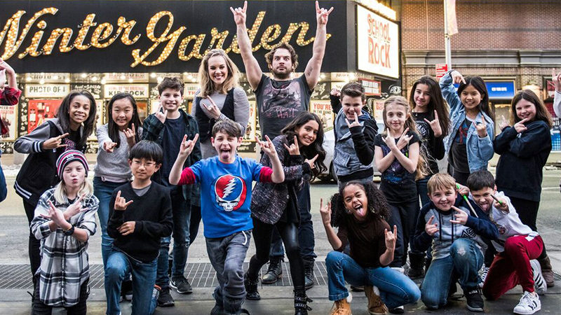 School Of Rock The Next Class Broadway Direct