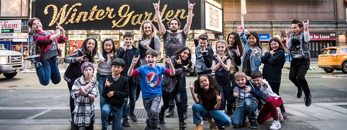 New cast members join the cast of School of Rock the musical on Broadway