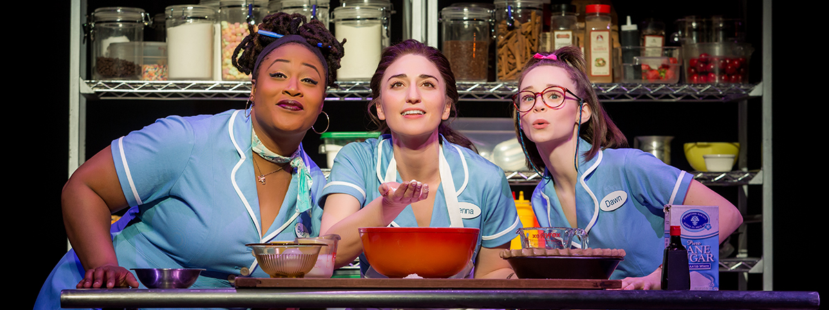 Sara Bareilles stars in the Broadway musical Waitress through March 11