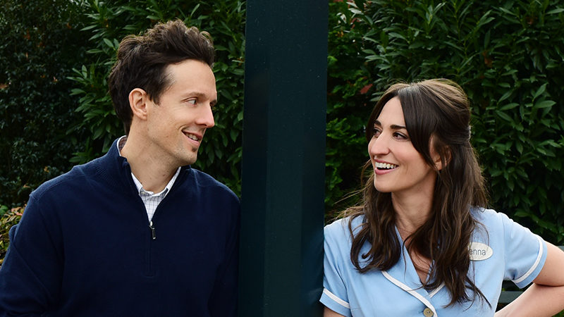 Jason Mraz and Sara Bareilles star in Waitress the musical