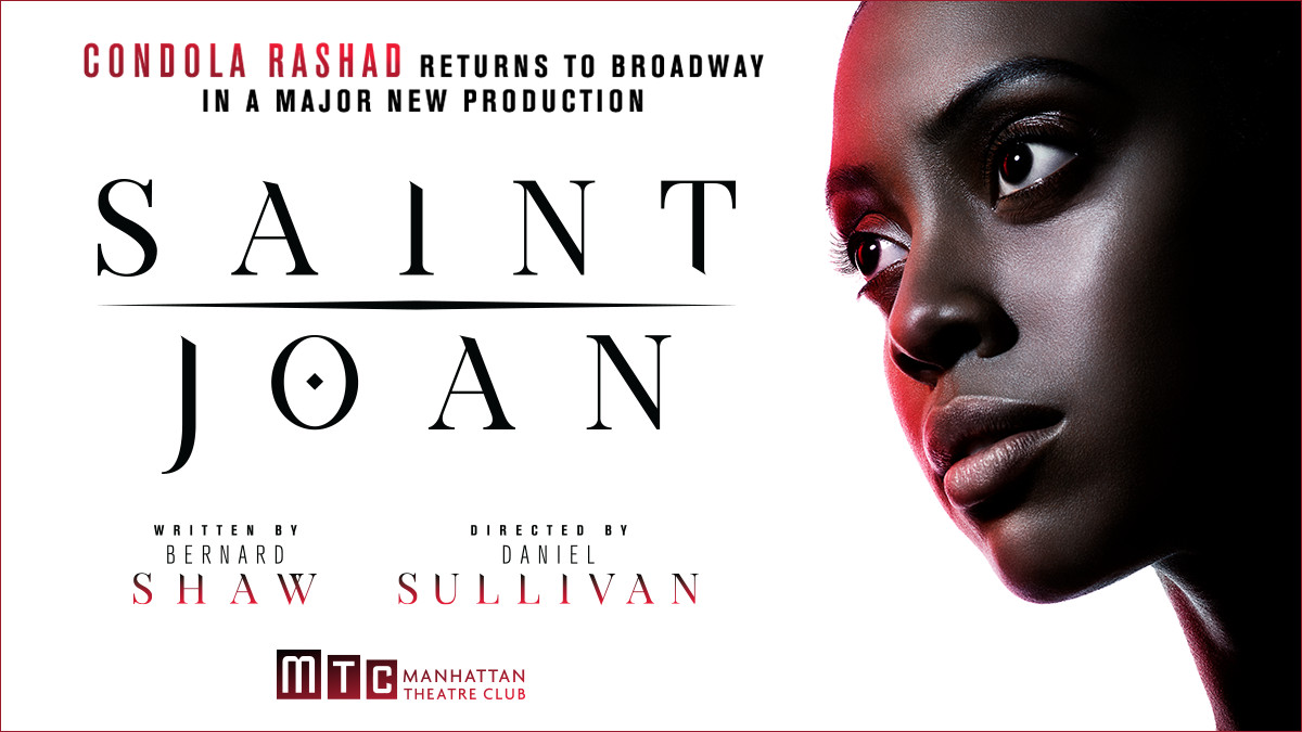 Saint Joan on Broadway
